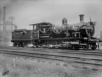 New South Wales D53 class locomotive - Image: 200th steam locomotive built by Clyde TF 1164 from The Powerhouse Museum