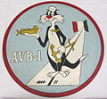 2010-96-1 Plaque, Ship, USS Alameda County, AVB-1 (5062505993).jpg