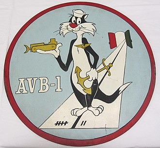 Sylvester the Cat - Image: 2010 96 1 Plaque, Ship, USS Alameda County, AVB 1 (5062505993)