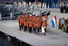 2010 Opening Ceremony - Netherlands entering.jpg