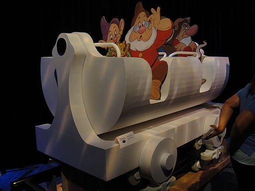 2011 prototype car for the Seven Dwarfs Mine Train