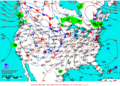 2012-01-31 Surface Weather Map NOAA.png