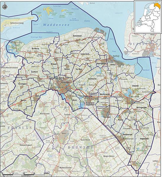 Province Groningen Visitholland