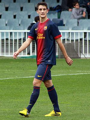 Luis Alberto (footballer, born 1992) - Luis Alberto playing for Barcelona B in 2012