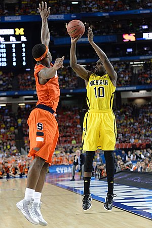 C. J. Fair - Fair defending against Tim Hardaway, Jr. in the 2013 NCAA Men's Division I Basketball Tournament final four.