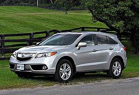 Acura RDX Wikipedia - Acura rdx fuel type