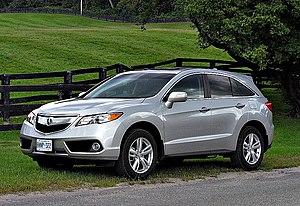 Acura RDX - Image: 2013 Acura MDX