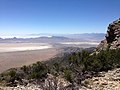 2014-06-29 11 59 45 View south from about 9030 feet on the main Pilot Peak, Nevada ridgeline north of Miner's Canyon.JPG