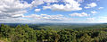 2014-08-28 16 36 57 Panorama from the south corner of the base of High Point Monument in High Point State Park, New Jersey.JPG