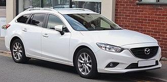 Mazda6 - Pre-facelift Mazda6 SE-L estate (UK)