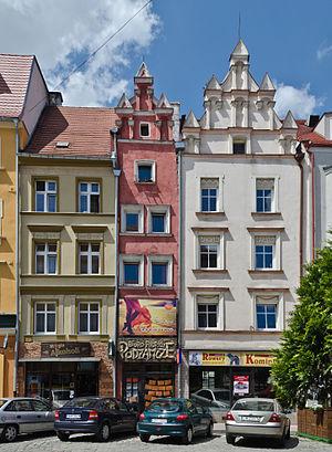 Nysa, Poland - Historical tenements