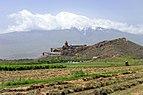 2014 Prowincja Ararat, Widok na Wielki Ararat i klasztor Chor Wirap (04).jpg