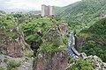 2014 Prowincja Wajoc Dzor, Dżermuk, Widok z mostu nad rzeką Arpa (07).jpg