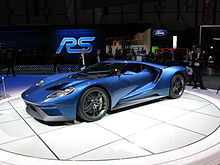 ford gt at the 2015 geneva motor show