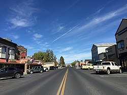 Main Street (SR 208) in downtown Yerington