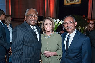 Jim Clyburn - Clyburn and Nancy Pelosi in November 2015