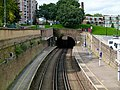 2015 London-Woolwich, Woolwich Dockyard railway station 17.JPG