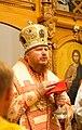 2016-07-23 01-00. Епископ Иона (Черепанов) в Спасо-Преображенском соборе Заславля.jpg