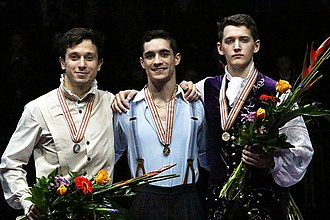 European Figure Skating Championships - The 2016 medalists in the men's event