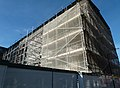 2016 London, Woolwich, Crossrail station, construction site west - 4.jpg