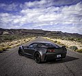 2017 Corvette Collector Edition Number 46 on Route 66 near Oatman Arizona.jpg