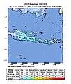 2018-10-11 Sumberanyar, Indonesia M6 earthquake shakemap.jpg