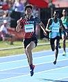 2018-10-16 Stage 2 (Boys' 400 metre hurdles) at 2018 Summer Youth Olympics by Sandro Halank–106.jpg