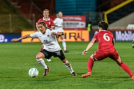 20180405 FIFA Women's World Cup Qualification AUT-SRB Laura Feiersinger 850 6810.jpg