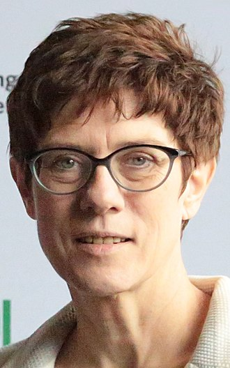 Leader of the Christian Democratic Union - Image: 2018 Annegret Kramp Karrenbauer