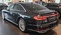 2018 Audi A8 55 TFSi Quattro Rear.jpg