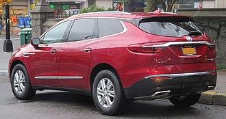 Buick Enclave - Rear view