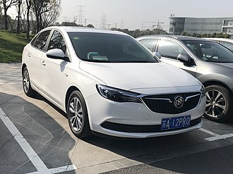 SAIC-GM - Image: 2018 Buick Excelle GT