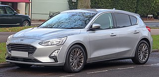 Ford Focus (fourth generation) Motor vehicle