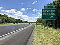 2019-06-14 13 29 10 View south along the Inner Loop of the Baltimore Beltway (Interstate 695) at Exit 41 (Cove Road, Dundalk) in Dundalk, Baltimore County, Maryland.jpg