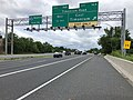 2019-06-21 10 06 20 View north along Interstate 83 (Baltimore-Harrisburg Expressway) at Exit 16A (Timonium Road EAST, Timonium) on the edge of Mays Chapel and Timonium in Baltimore County, Maryland.jpg