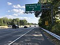 2019-10-02 15 42 21 View south along Maryland State Route 5 (Branch Avenue) at the exit for Old Branch Avenue-Kirby Road in Clinton, Prince George's County, Maryland.jpg