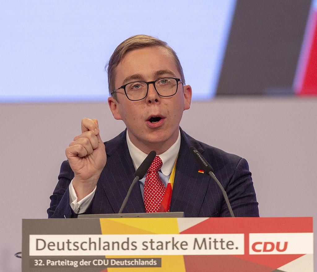 2019-11-23 Philipp Amthor CDU Parteitag by OlafKosinsky MG 6365.jpg