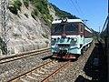 201908 SS3-8040 hauls Freight Train at Xinchang Station.jpg