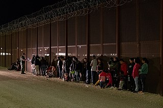 Migration of people across national borders in a way that violates the immigration laws of the destination country