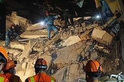 2020 Aegean Sea earthquake search and rescue efforts 2.jpg