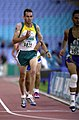 231000 - Athletics track 800m T36 final Malcolm Bennett action 2 - 3b - 2000 Sydney race photo.jpg