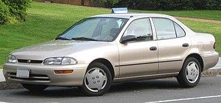 Geo Prizm Compact car sold under the Geo brand