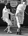 2nd Leonidas Pirgos Fencing Tournament. Double touch between Baker and his opponent.jpg