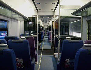 Heathrow Express - Original Standard Class interior