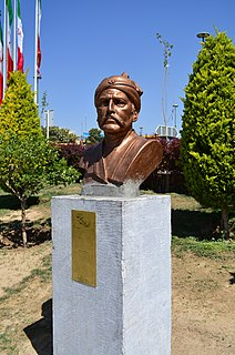 16th/17th century Iranian general and statesman
