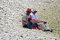 3 generations on a Lelepa beach, Vanuatu, 2006 - Flickr - PhillipC.jpg