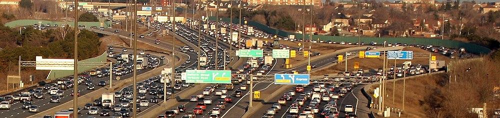 Трасса 401 — самая загруженная автомагистраль Северной Америки