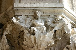 Fidelity - Image: 4243 Venezia Palazzo ducale Capitello 28 In fidelitate nullli gero Foto Giovanni Dall'Orto, 30 Jul 2008