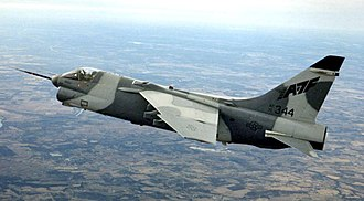 Vought YA-7F - YA-7F prototype in 1989