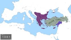 L'Empire byzantin à la veille des croisades, c.  1080
